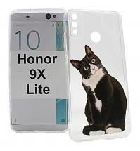 billigamobilskydd.se TPU-Designkotelo Huawei Honor 9X Lite