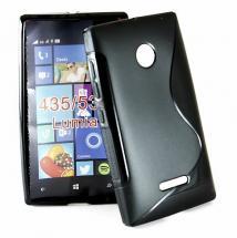 billigamobilskydd.se S-Line TPU-muovikotelo för Microsoft Lumia 532/435