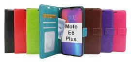 billigamobilskydd.se Crazy Horse Lompakko Motorola Moto E6 Plus