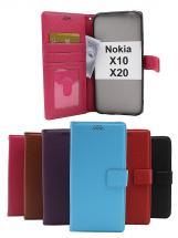 billigamobilskydd.se New Jalusta Lompakkokotelo Nokia X10 / Nokia X20