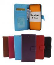 billigamobilskydd.se New Jalusta Lompakkokotelo Realme 7 Pro