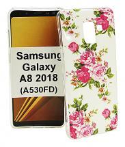 billigamobilskydd.se TPU-Designkotelo Samsung Galaxy A8 2018 (A530FD)