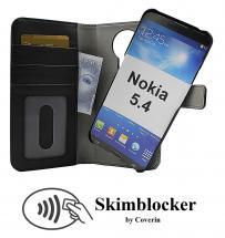 CoverIn Skimblocker Magneettilompakko Nokia 5.4