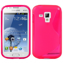 billigamobilskydd.se S-Line TPU-muovikotelo Samsung Galaxy Trend (S7560 & s7580)