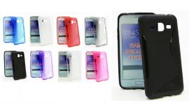 billigamobilskydd.se S-Line TPU-muovikotelo Samsung Galaxy J3 2016 (J320F)