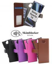 CoverIn Skimblocker Magneettikotelo Sony Xperia 10