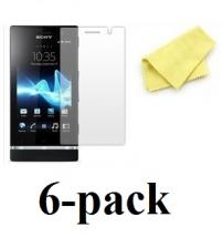 billigamobilskydd.se Kuuden kappaleen näytönsuojakalvopakett LG Optimus L7 (P700)