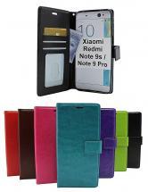 billigamobilskydd.se Crazy Horse Lompakko Xiaomi Redmi Note 9s / Note 9 Pro