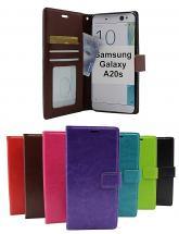 billigamobilskydd.se Crazy Horse Lompakko Samsung Galaxy A20s (A207F/DS)