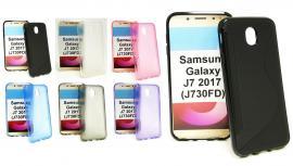 billigamobilskydd.se S-Line TPU-muovikotelo Samsung Galaxy J7 2017 (J730FD)