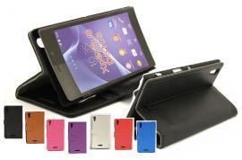 billigamobilskydd.se Jalusta Lompakkokotelo Sony Xperia T3 (D5103)
