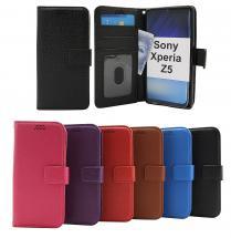 billigamobilskydd.se New Jalusta Lompakkokotelo Sony Xperia Z5 (E6653)