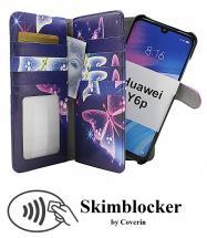 CoverIn Skimblocker XL Magnet Designwallet Huawei Y6p