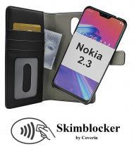 CoverIn Skimblocker Magneettilompakko Nokia 2.3