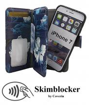 billigamobilskydd.se Skimblocker XL Magnet Designwallet iPhone 7