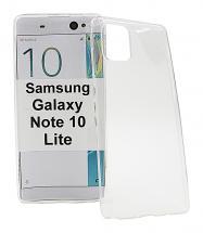 billigamobilskydd.se Ultra Thin TPU Kotelo Samsung Galaxy Note 10 Lite (N770F)