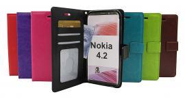 billigamobilskydd.se Crazy Horse Lompakko Nokia 4.2