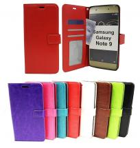billigamobilskydd.se Crazy Horse Lompakko Samsung Galaxy Note 9 (N960F/DS)