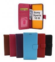 billigamobilskydd.se New Jalusta Lompakkokotelo Sony Xperia 10 III (XQ-BT52)