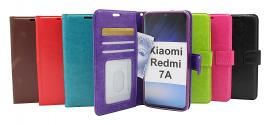billigamobilskydd.se Crazy Horse Lompakko Xiaomi Redmi 7A