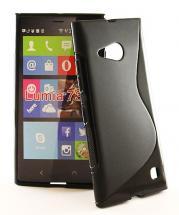 billigamobilskydd.se S-Line TPU-muovikotelo Nokia Lumia 730/735