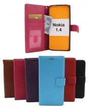 billigamobilskydd.se New Jalusta Lompakkokotelo Nokia 1.4
