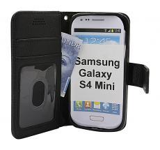 billigamobilskydd.se New Jalusta Lompakkokotelo Samsung Galaxy S4 Mini (i9195/i9190)