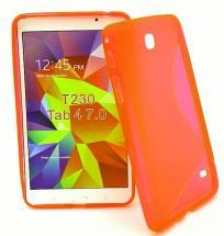 """billigamobilskydd.se Samsung Tab 4 (T230/T235) 7"""" S-Line TPU-muovikotelo"""