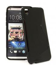 billigamobilskydd.se S-Line TPU-muovikotelo HTC Desire 816