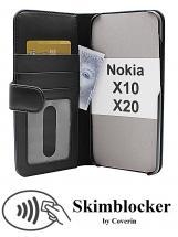CoverIn Skimblocker Lompakkokotelot Nokia X10 / Nokia X20