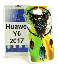 billigamobilskydd.se TPU-Designkotelo Huawei Y6 2017 (MYA-L41)