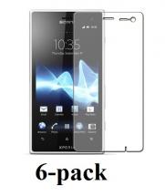 billigamobilskydd.se Sony Xperia Acro S Skærmbeskyttelse (6 stk.)