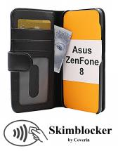 CoverIn Skimblocker Lompakkokotelot Asus ZenFone 8 (ZS590KS)