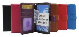 billigamobilskydd.se New Jalusta Lompakkokotelo Asus ZenFone Max M1 (ZB555KL)