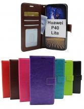 billigamobilskydd.se Crazy Horse Lompakko Huawei P40 Lite