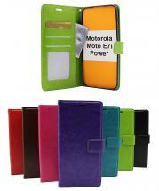 billigamobilskydd.se Crazy Horse Lompakko Motorola Moto E7i Power