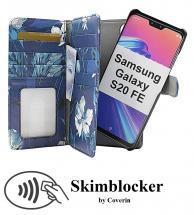 CoverIn Skimblocker XL Magnet Designwallet Samsung Galaxy S20 FE / S20 FE 5G