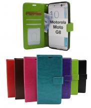 billigamobilskydd.se Crazy Horse Lompakko Motorola Moto G8