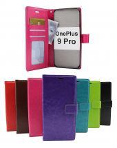billigamobilskydd.se Crazy Horse Lompakko OnePlus 9 Pro