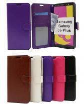 billigamobilskydd.se Crazy Horse Lompakko Samsung Galaxy J6 Plus (J610FN/DS)