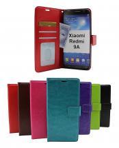 billigamobilskydd.se Crazy Horse Lompakko Xiaomi Redmi 9A