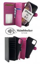billigamobilskydd.se Skimblocker XL Magnet Wallet iPhone 11 (6.1)