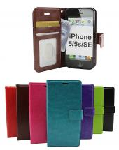 billigamobilskydd.se Crazy Horse Lompakko iPhone 5/5s/SE