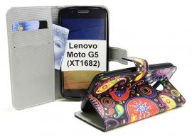 billigamobilskydd.se Kuviolompakko Lenovo Moto G5 (XT1682)