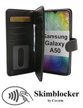 billigamobilskydd.se Skimblocker XL Wallet Samsung Galaxy A50 (A505FN/DS)