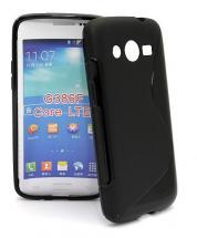 billigamobilskydd.se S-Line TPU-muovikotelo Samsung Galaxy Core LTE (G386)