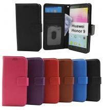 billigamobilskydd.se New Jalusta Lompakkokotelo Huawei Honor 9 (STF-L09)