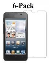 billigamobilskydd.se Kuuden kappaleen näytönsuojakalvopakett Huawei Ascend G510