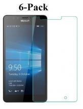 billigamobilskydd.se Kuuden kappaleen näytönsuojakalvopaketti Microsoft Lumia 950