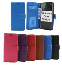 billigamobilskydd.se New Jalusta Lompakkokotelo Motorola One Vision